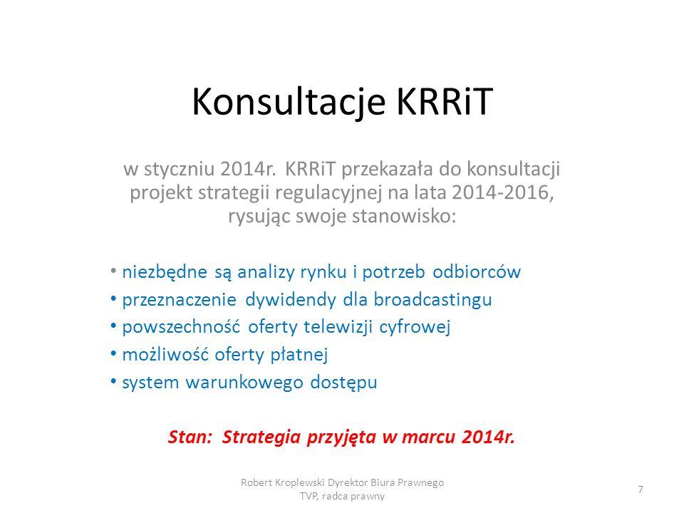 Konsultacje KRRiT w styczniu 2014r.