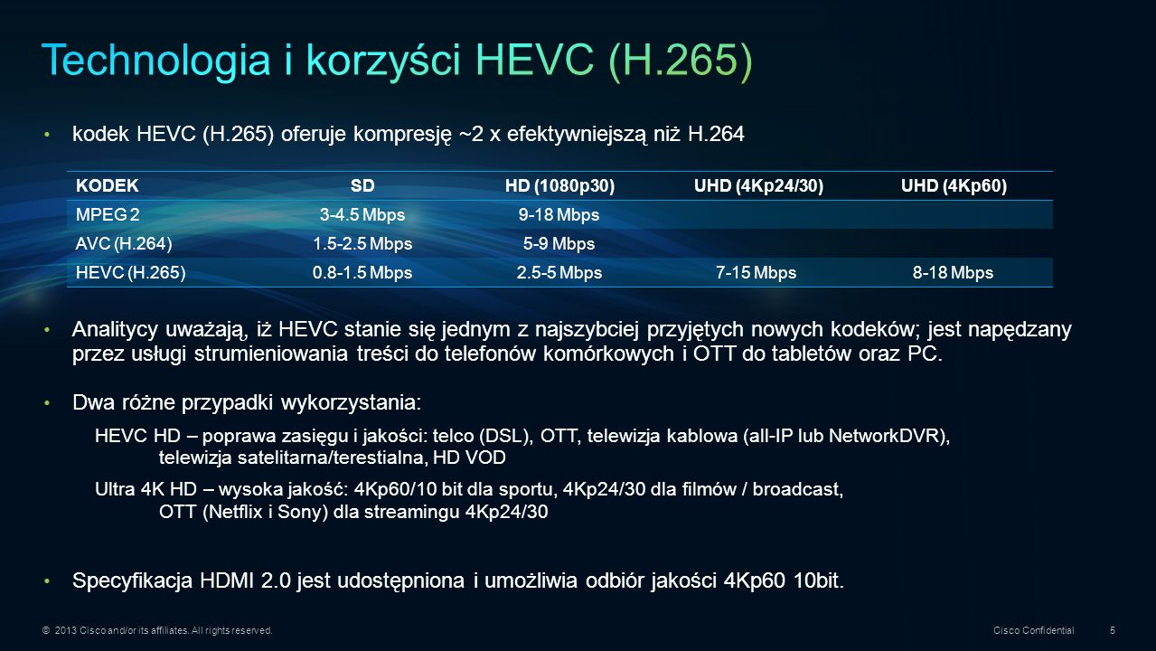 © 2013 Cisco and/or its affiliates. All rights reserved. Cisco Confidential 26 Thank you. Dziękuję