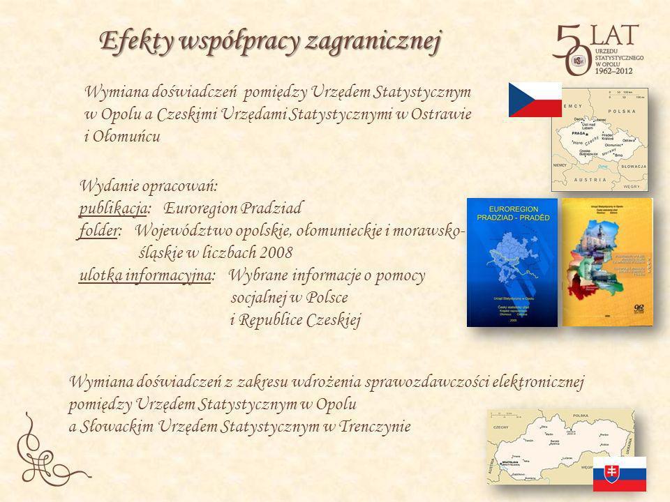 Wymiana doświadczeń pomiędzy Urzędem Statystycznym w Opolu a Czeskimi Urzędami Statystycznymi w Ostrawie i Ołomuńcu Wymiana doświadczeń z zakresu wdro