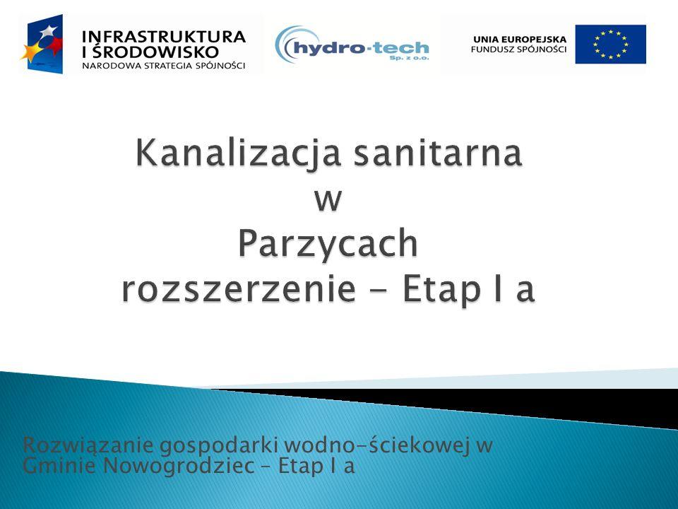 Rozwiązanie gospodarki wodno-ściekowej w Gminie Nowogrodziec – Etap I a
