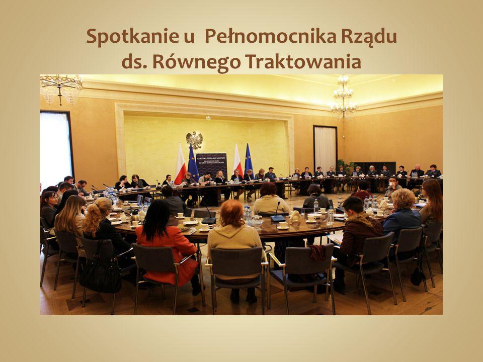 Spotkanie u Pełnomocnika Rządu ds. Równego Traktowania