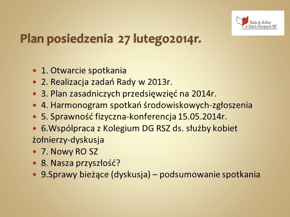 Szkolenie Doradców ds.Płci Współpraca z NATO 06 -15.03.2013r.- kurs GFA w Szwecji – por.