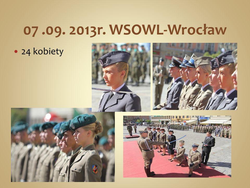 07.09. 2013r. WSOWL-Wrocław 24 kobiety