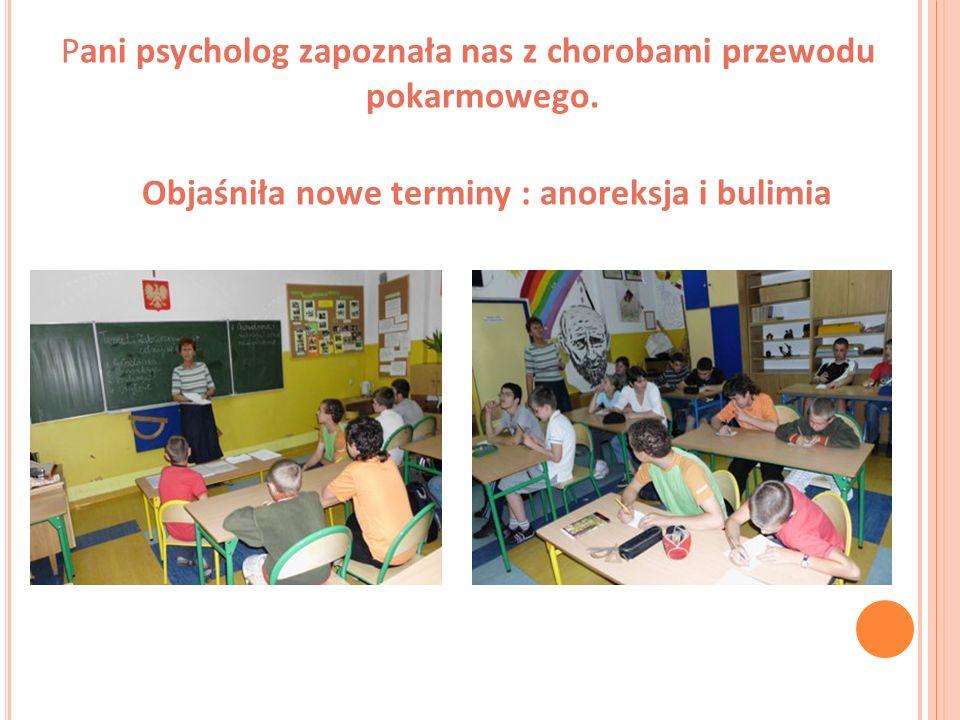 Na podsumowanie zajęć odpowiadaliśmy pisemnie na pytania Najwięcej zapamiętali: Ewelina Konieczka I Daniel Niedziela