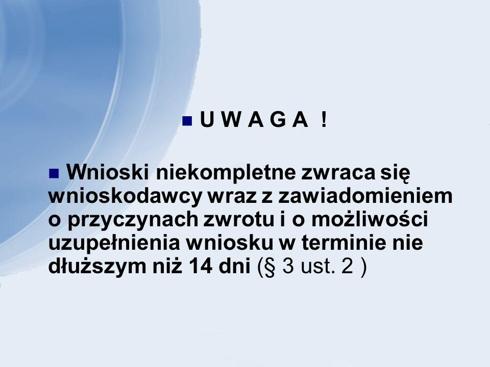 U W A G A .