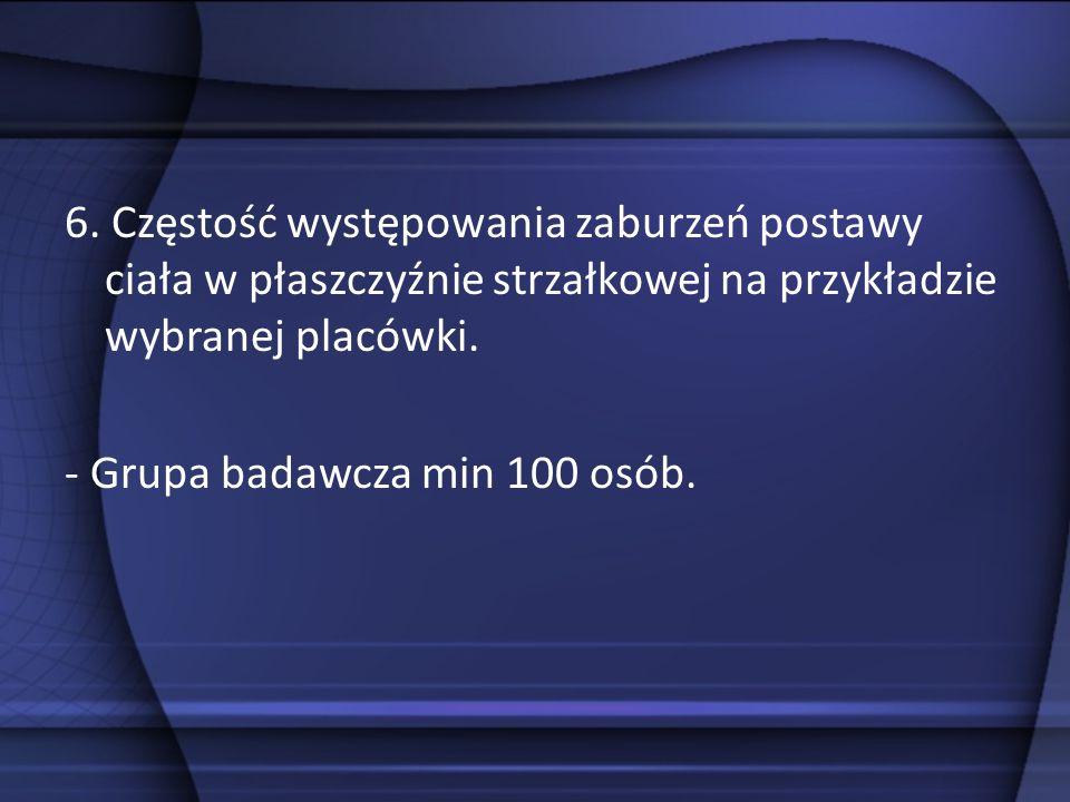 7. Rozwój światowej i polskiej myśli terapeutycznej w leczeniu skolioz. - Praca poglądowa.