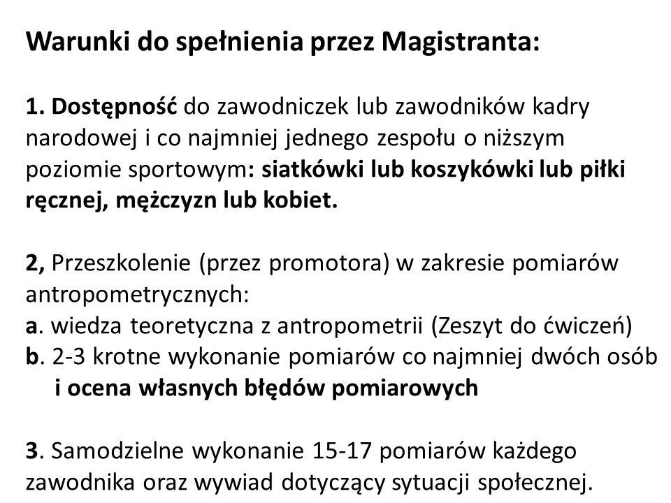 Metoda opracowania zebranych materiałów 1.