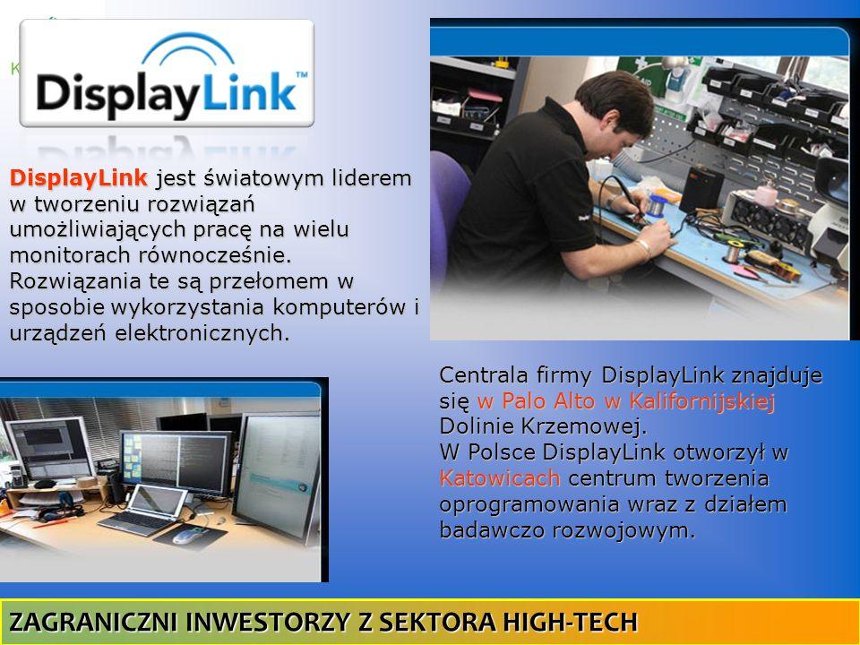 DisplayLink jest światowym liderem w tworzeniu rozwiązań umożliwiających pracę na wielu monitorach równocześnie. Rozwiązania te są przełomem w sposobi