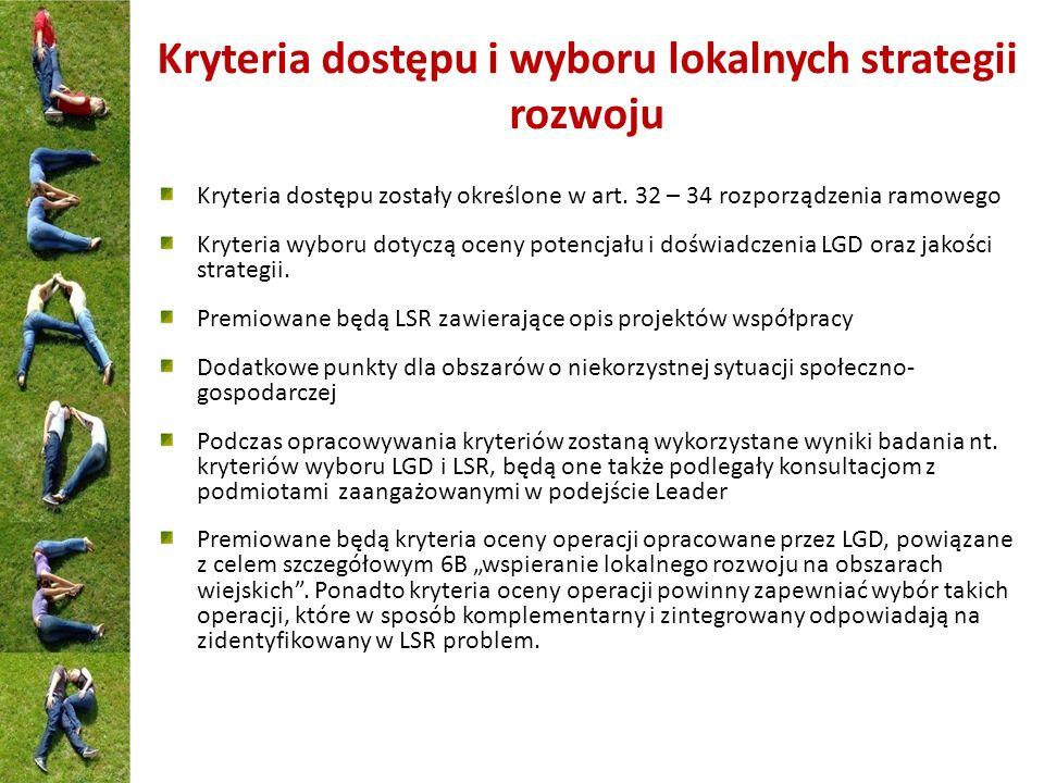 Realizacja operacji w ramach LSR (beneficjenci) Osoby fizyczne.