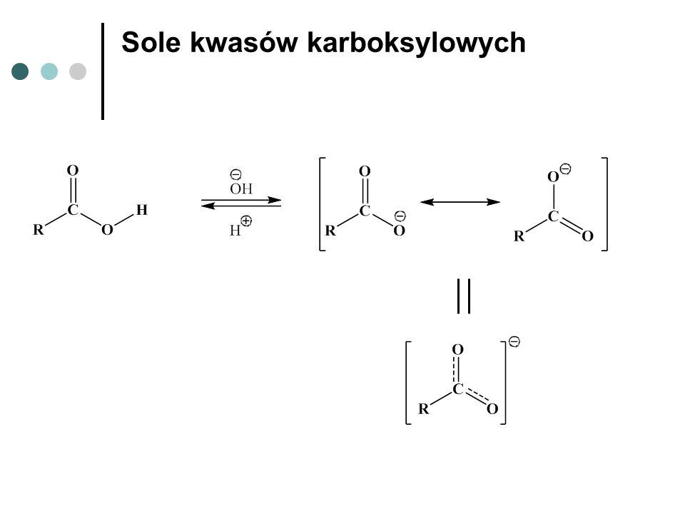 Sole kwasów karboksylowych