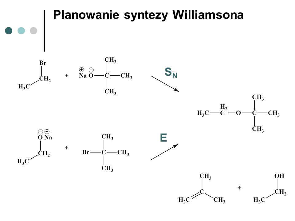 Planowanie syntezy Williamsona SNSN E