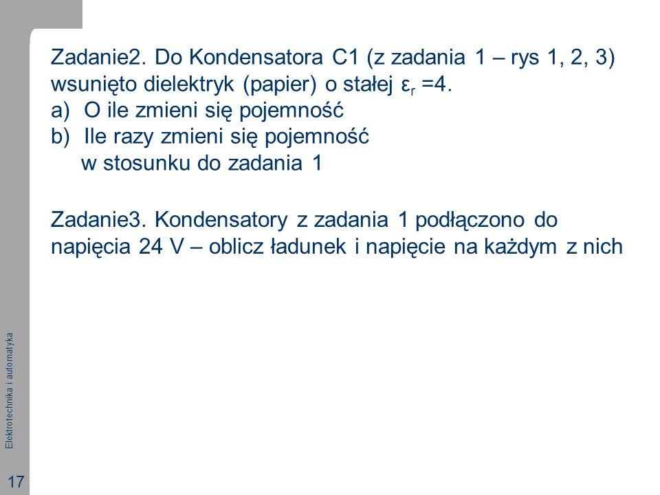 Elektrotechnika i automatyka 17 Zadanie3.