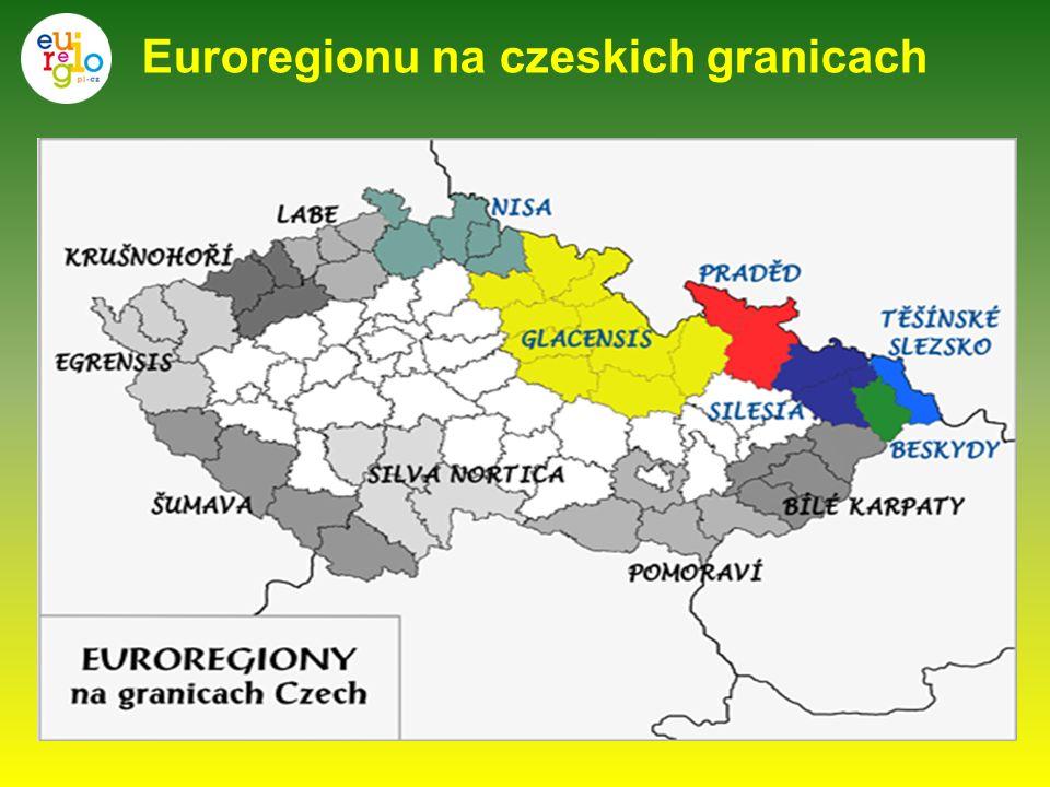 Euroregionu na czeskich granicach