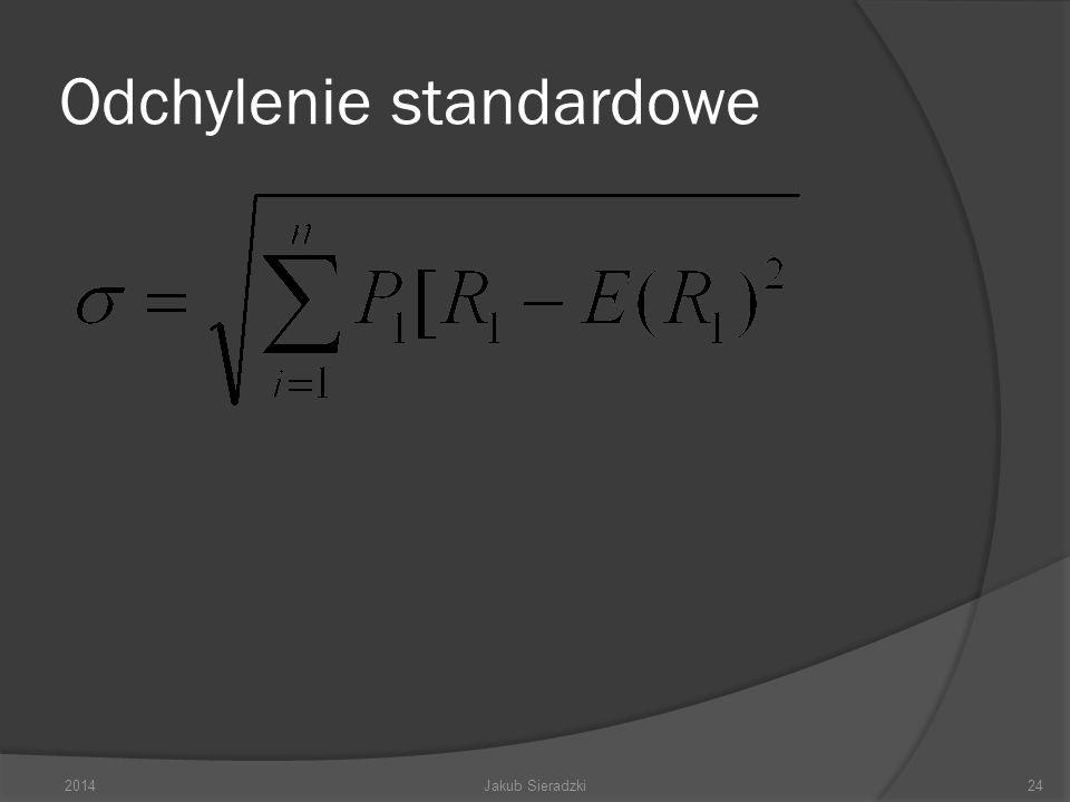 Odchylenie standardowe 2014Jakub Sieradzki24