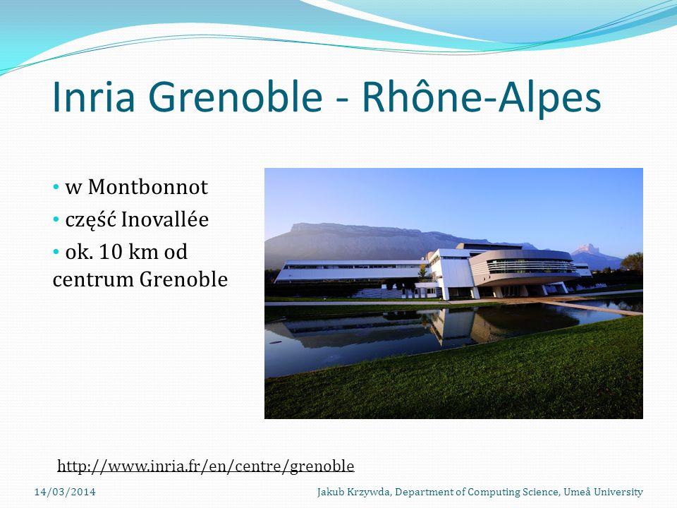 Inria Grenoble - Rhône-Alpes w Montbonnot część Inovallée ok.