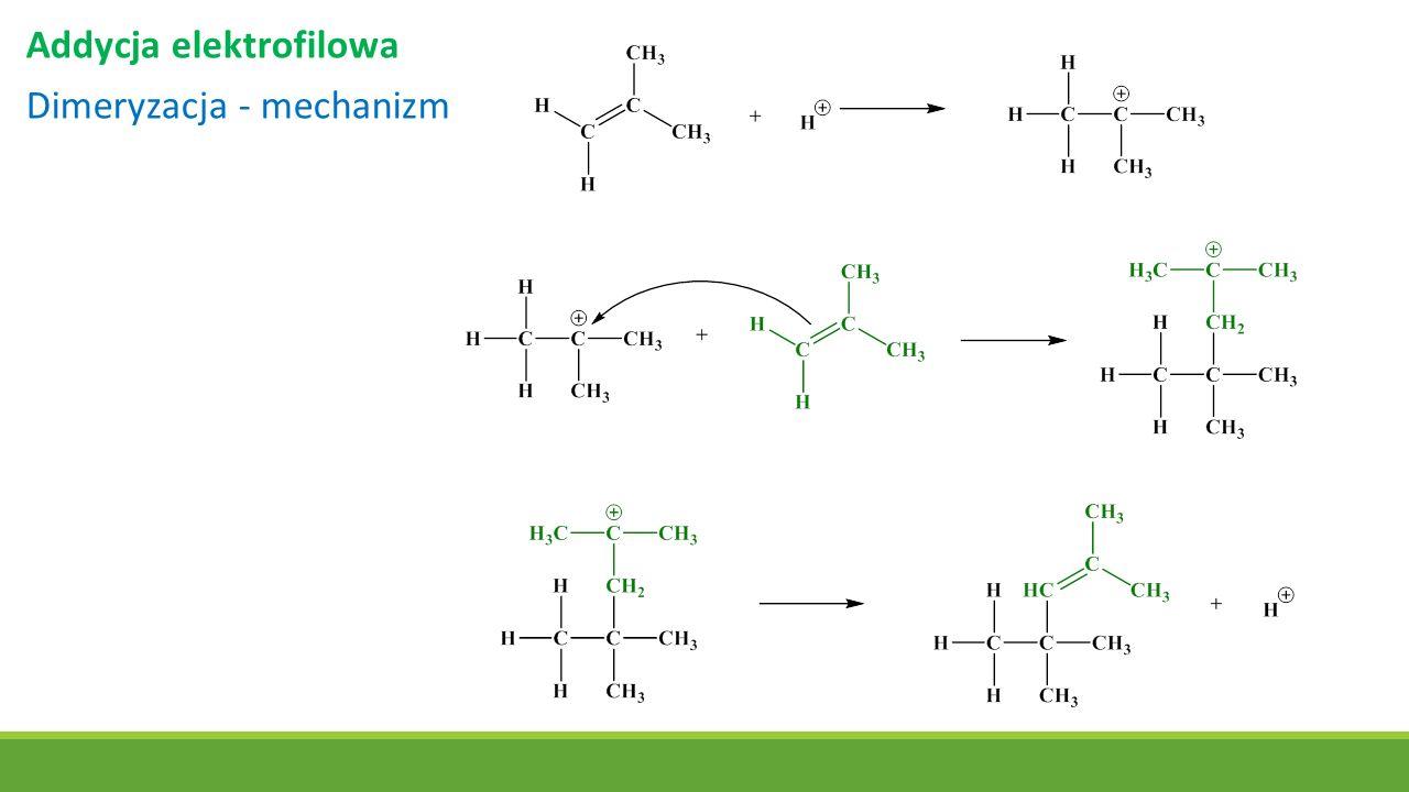 Addycja elektrofilowa Dimeryzacja - mechanizm