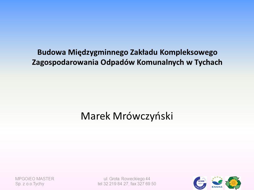 MPGOiEO MASTER Sp.z o.o.Tychy ul.