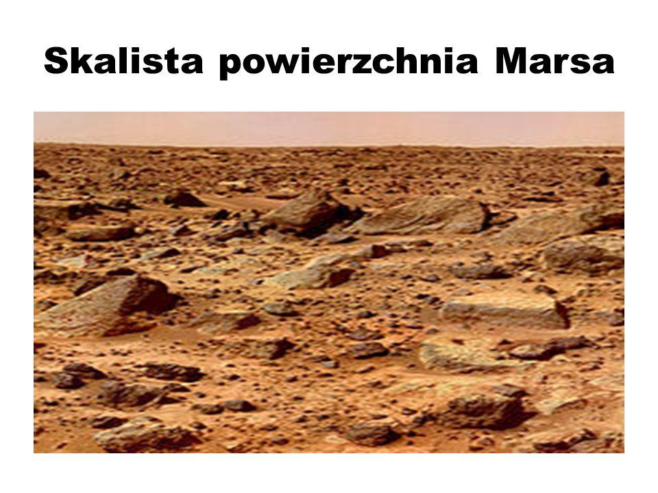 Skalista powierzchnia Marsa