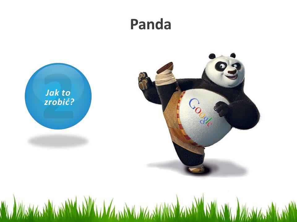 Panda 1 Czym jest SEO? 2 Jak to zrobić? zrobić?