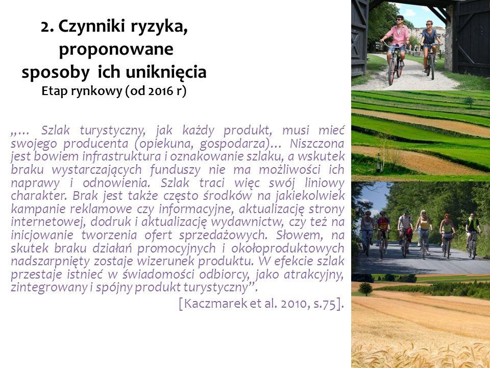… Szlak turystyczny, jak każdy produkt, musi mieć swojego producenta (opiekuna, gospodarza)… Niszczona jest bowiem infrastruktura i oznakowanie szlaku