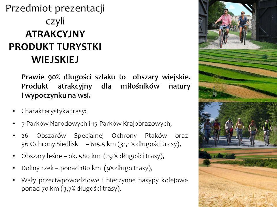 Cel prezentacji analiza barier utrudniających osiągnięcie spójności koncepcyjnej, funkcjonalnej i marketingowej produktu Wschodni Szlak Rowerowy Green Velo oraz przedstawienie sposobów ich przezwyciężenia, zwrócenie uwagi na wpływ tworzonego produktu na rozwój obszarów wiejskich Polski Wschodniej