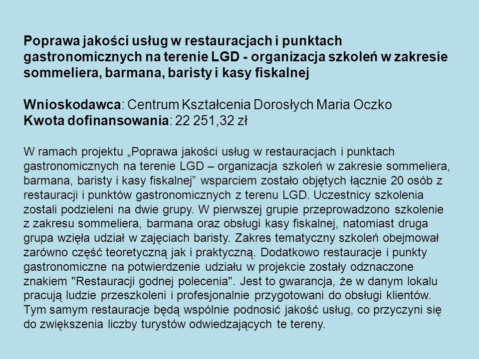 Obiekty sakralne ziemi oświęcimskiej - wydanie publikacji promującej obiekty religijne z obszaru LSR Wnioskodawca: ks.