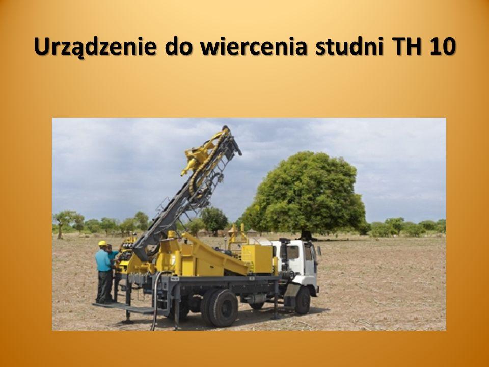 Urządzenie do wiercenia studni TH 10