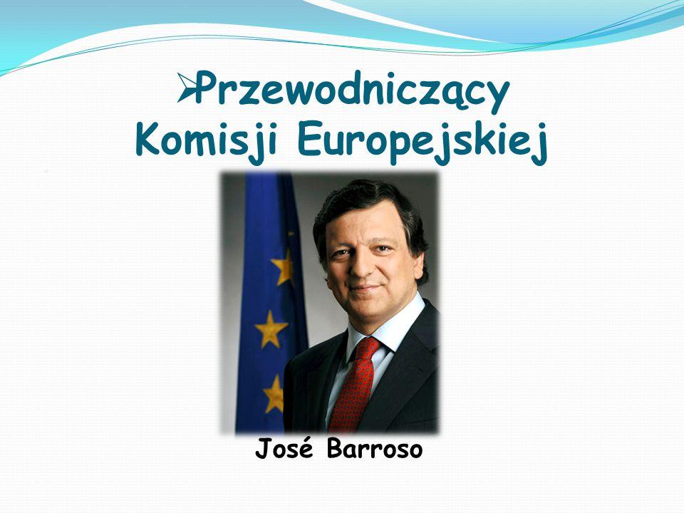 Przewodniczący Komisji Europejskiej. José Barroso