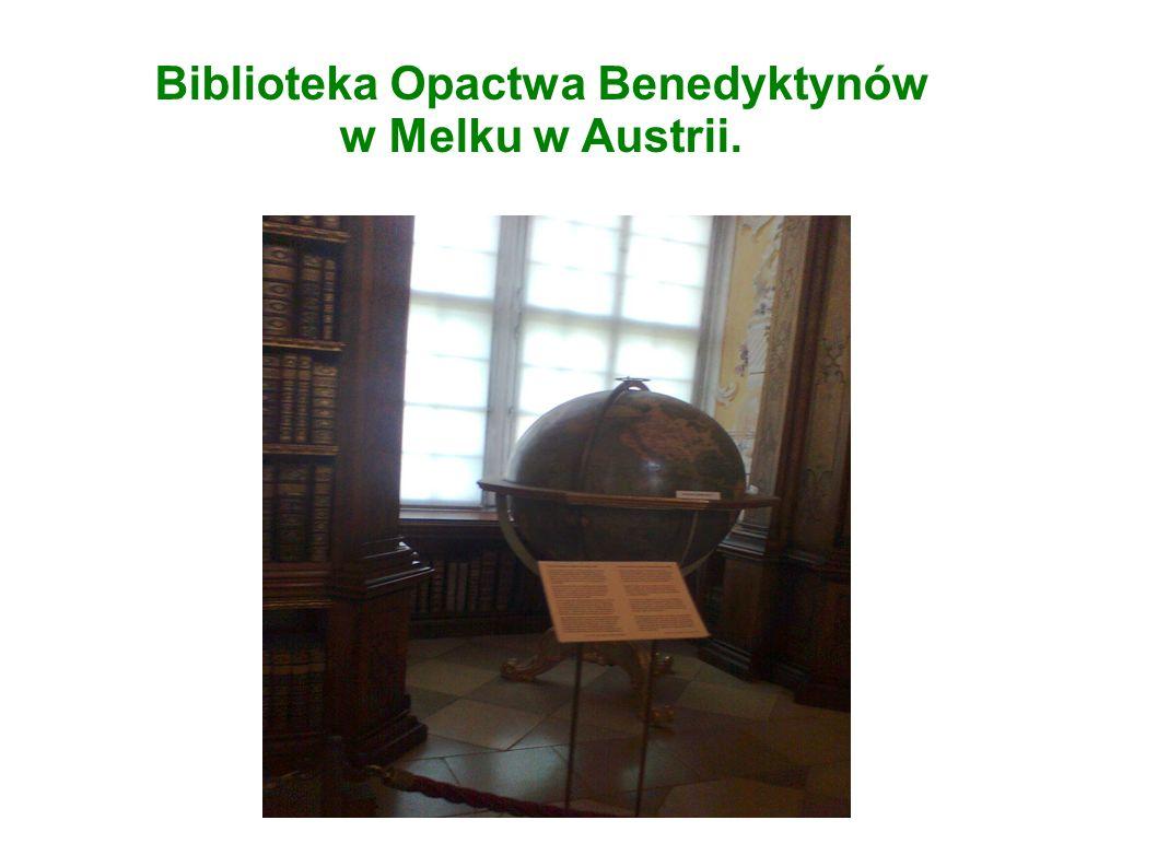 Biblioteka Opactwa Benedyktynów w Melku w Austrii.