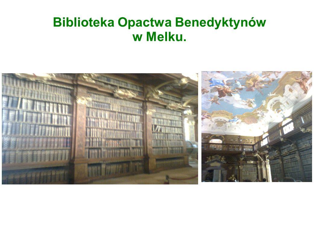 Biblioteka Opactwa Benedyktynów w Melku.