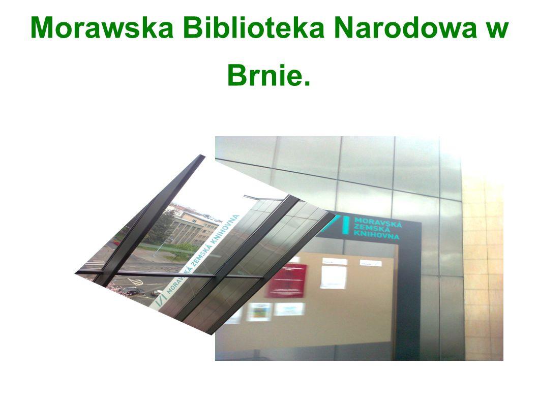 Morawska Biblioteka Narodowa w Brnie.