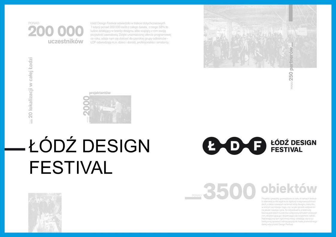 Podsumowanie drugiej edycji: 18 000 osób zwiedzających; 3 000 osób na otwarciu; 1 600 słuchaczy 25 paneli wykładów i warsztatów 120 akredytacji dziennikarskich, publikacje, radiu, telewizji, Internecie oraz w mediach zagranicznych: Icon Magazine, Future Mix Interiors, Design Review, Evening Standard.