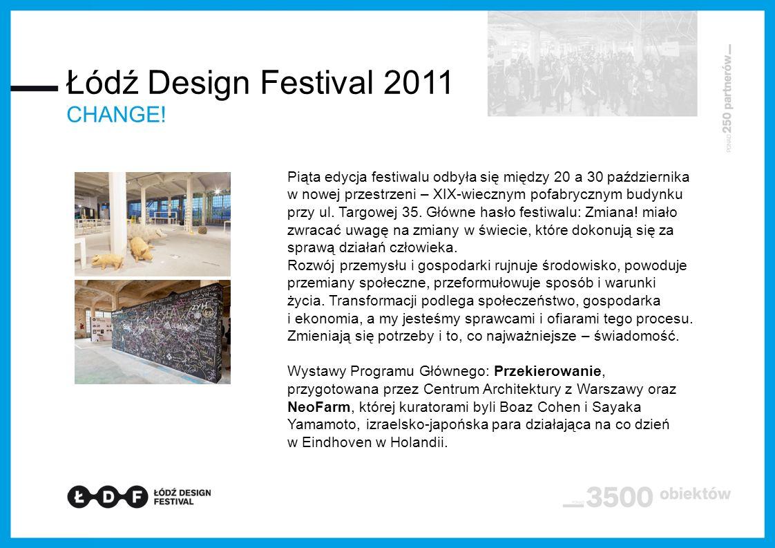 Piąta edycja festiwalu odbyła się między 20 a 30 października w nowej przestrzeni – XIX-wiecznym pofabrycznym budynku przy ul.