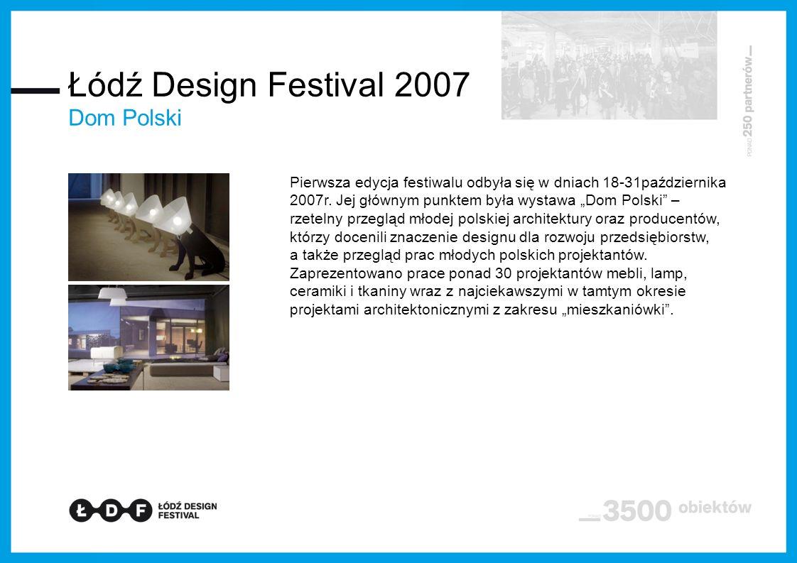 Pierwsza edycja festiwalu odbyła się w dniach 18-31października 2007r.