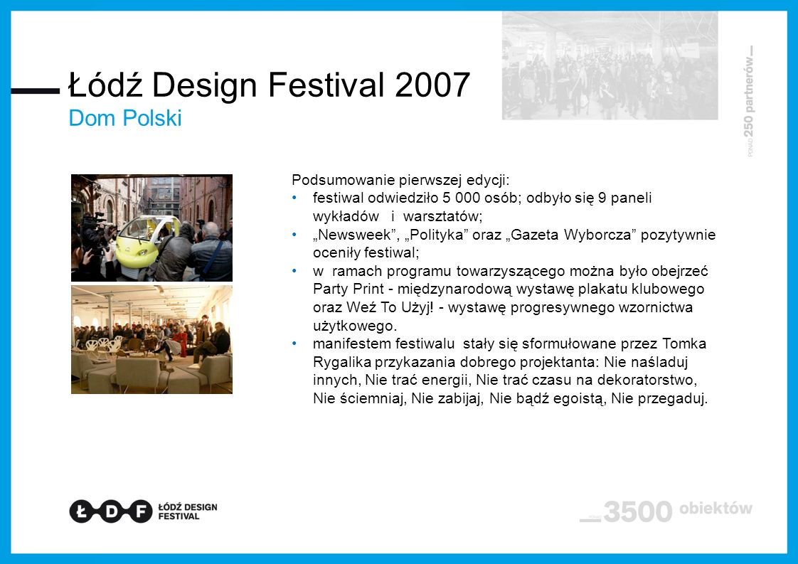 Łódź Design Festival 2011