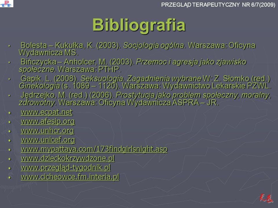 Bibliografia Bolesta – Kukułka, K. (2003). Socjologia ogólna. Warszawa: Oficyna Wydawnicza MS. Bolesta – Kukułka, K. (2003). Socjologia ogólna. Warsza