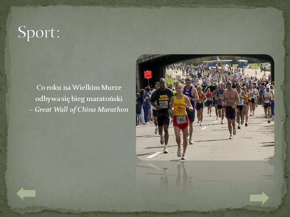 Co roku na Wielkim Murze odbywa się bieg maratoński – Great Wall of China Marathon