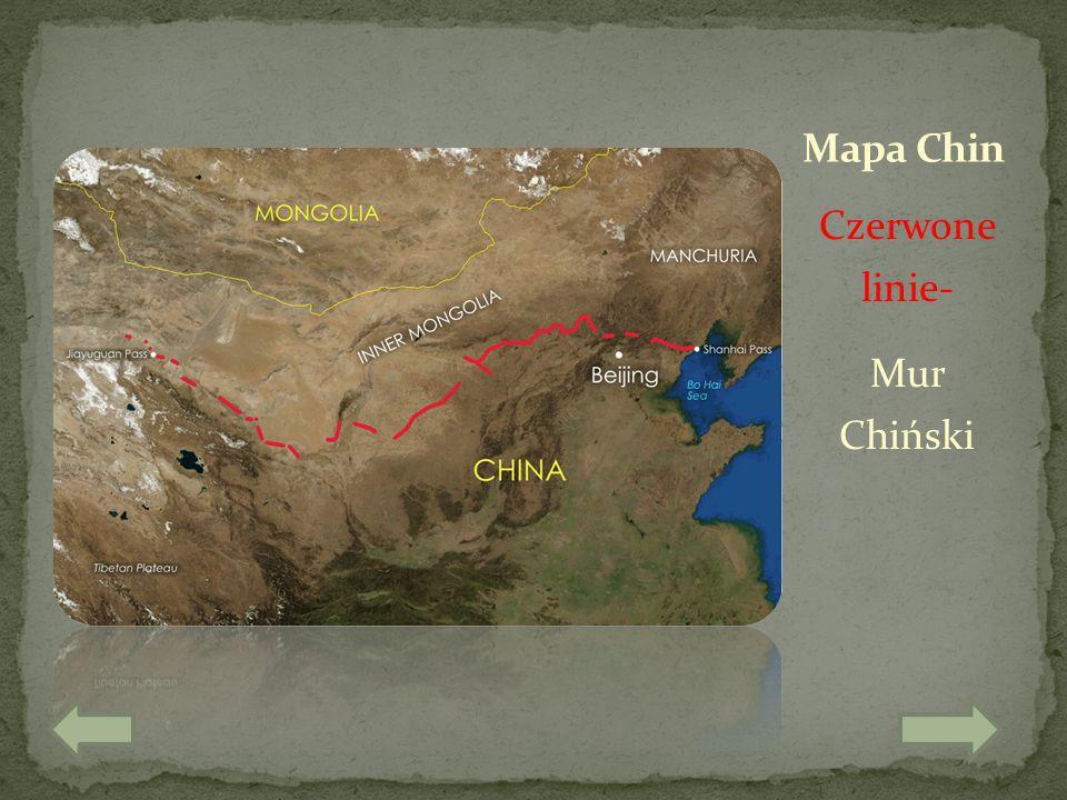 Czerwone linie- Mur Chiński