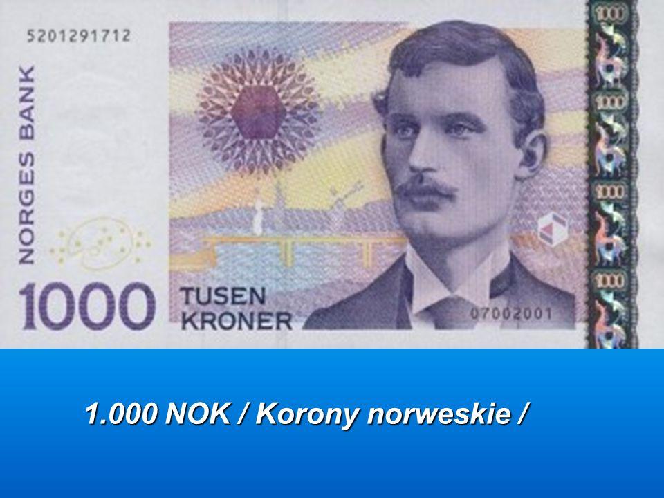 1.000 DKK /Korony duńskie /