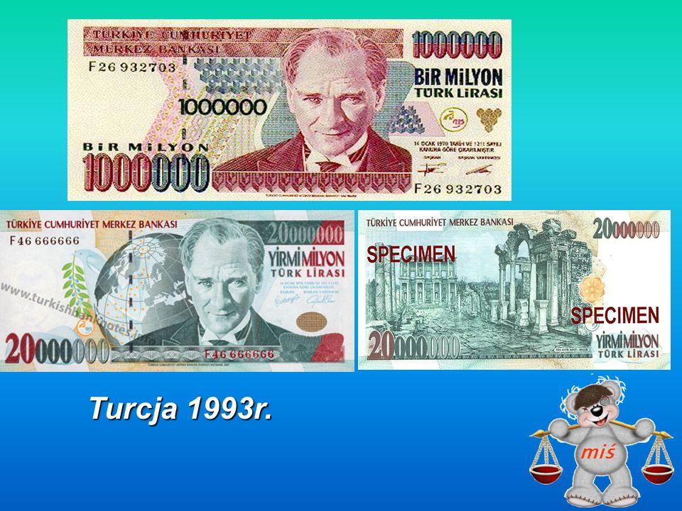 Białoruś emisja 1999 r.