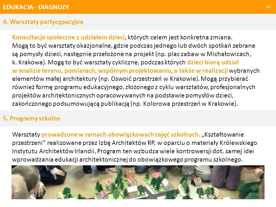 EDUKACJA - WSKAZANIE KIERUNKÓW ZMIANY 48 1.