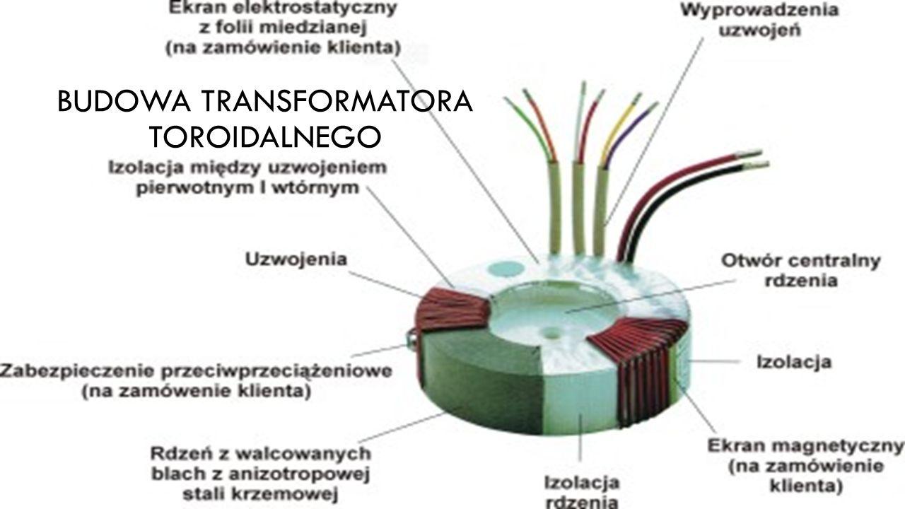 BUDOWA TRANSFORMATORA TOROIDALNEGO