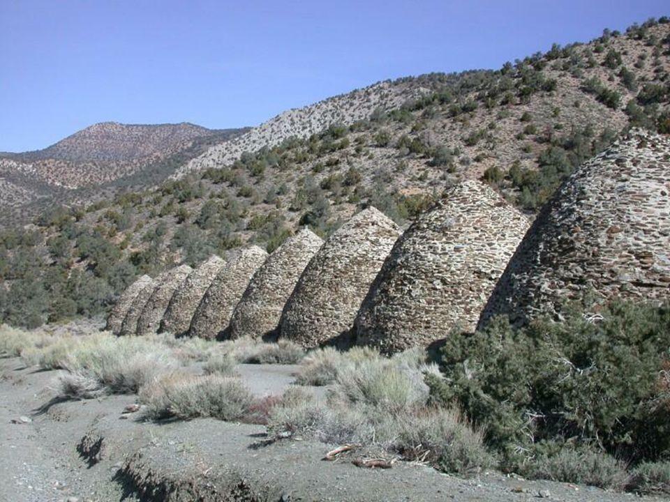 Charcoal Kilns (Piece do wypalania węgla drzewnego) węgla drzewnego) zostały wybudowane w 1867r i były wykorzystywane do wytwarzania węgla drzewnego w procesie powolnego spalania przy małym dostępie tlenu.
