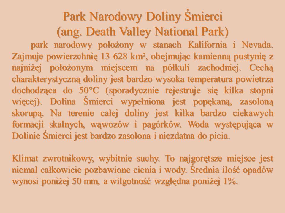 Park Narodowy Doliny Śmierci (ang.