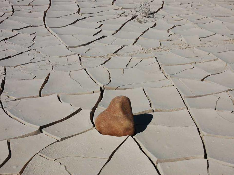Racetrack Playa wyschnięte, słone jezioro położone na wysokości 1130 m n.p.m.