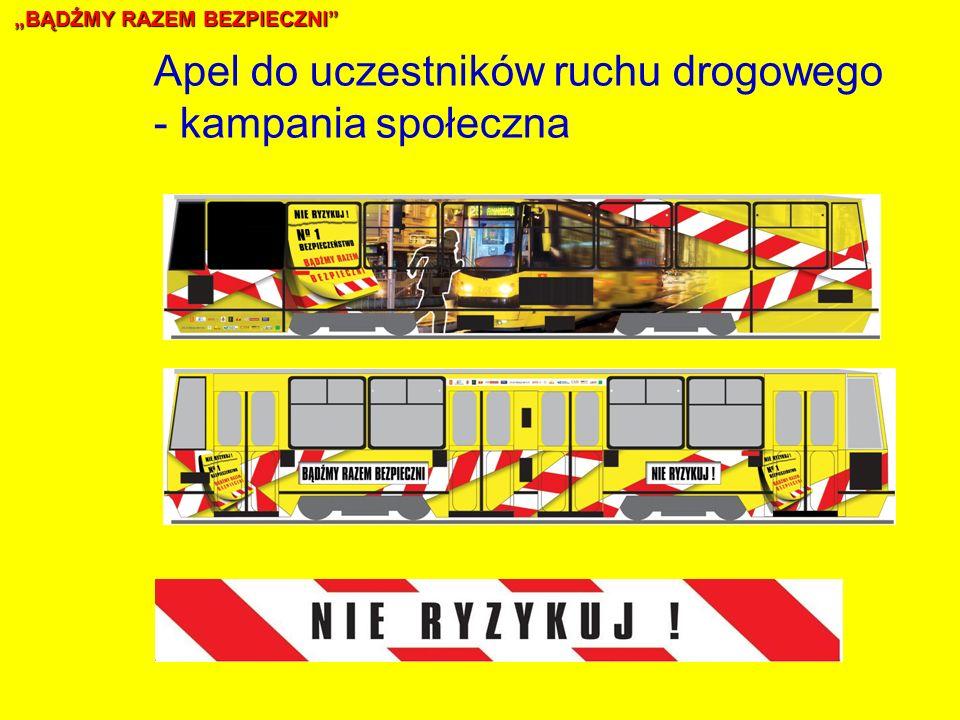BĄDŹMY RAZEM BEZPIECZNI Apel do uczestników ruchu drogowego - kampania społeczna