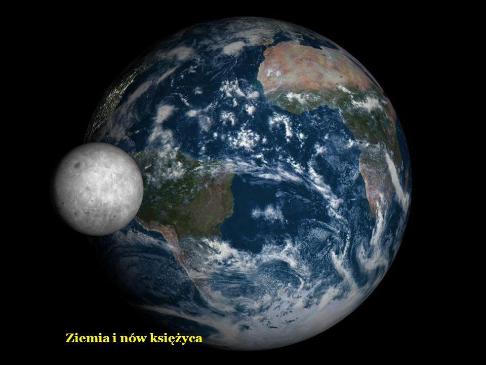 Ziemia z wschodzącym księżycem
