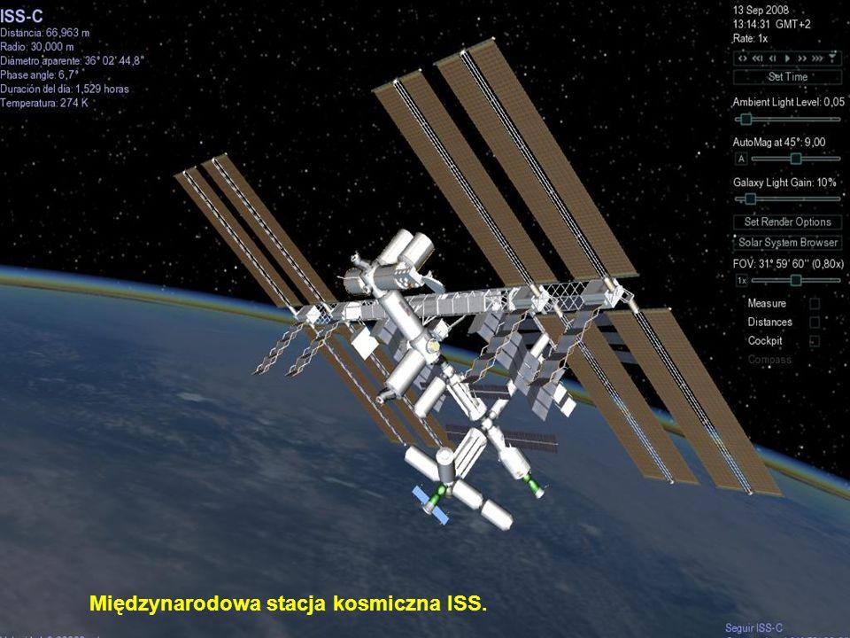 Międzynarodowa stacja kosmiczna ISS.