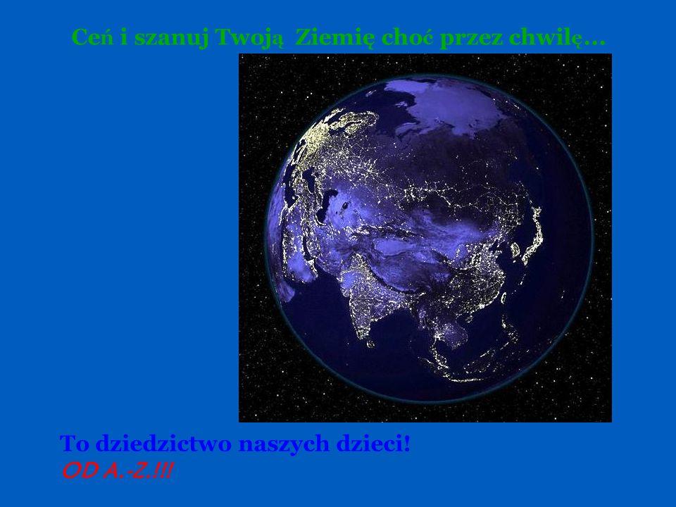 Przepiękna błękitna planeta !