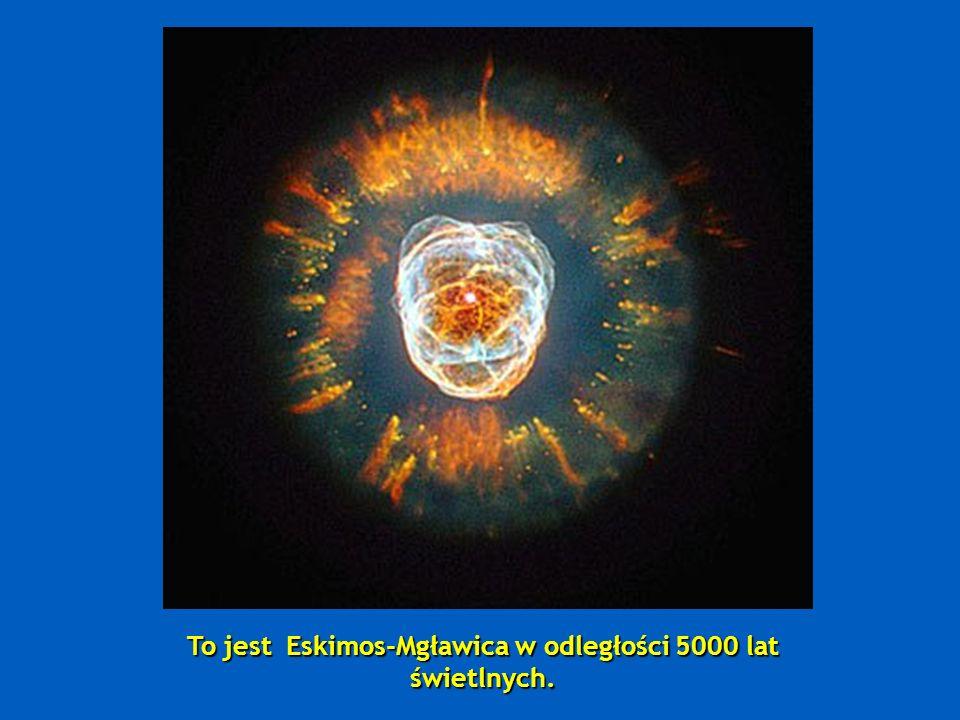 Następnie mamy Mgławicę Mrówek - nazwaną tak ze względu na jej kształt; znajduje się ona w odległości 3000-6000 lat świetlnych.